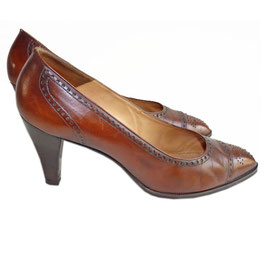 Pumps BALLY BELLEZZA braun VINTAGE Gr. 37.5