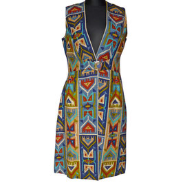 Kleid Gr. M Tunikakleid Ethno Tribal VINTAGE 1960s