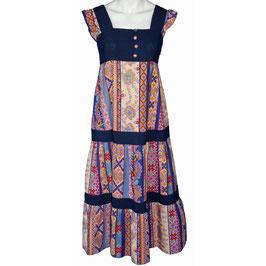 Kleid Gr. S/M Trägerkleid Hippie Boho VINTAGE 1970s