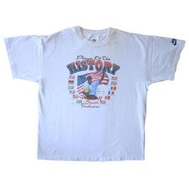 T-Shirt Tennis Pete Sampras 90s Gr. M/L