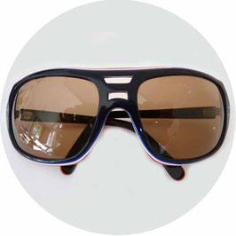 Sonnenbrille Sportbrille UVEX blau-rot-weiss Original VINTAGE 1980s