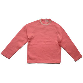 Pullover Wolljersey  60s rosa 8-9 Jahre
