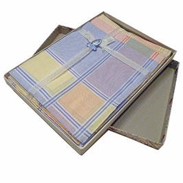 Nastüechli Taschentücher feinste Baumwolle 6 Stk. VINTAGE 1940s