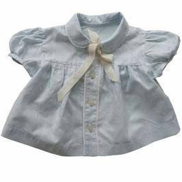 Babykleidchen VINTAGE 1960s hellblau 1-2 Monate