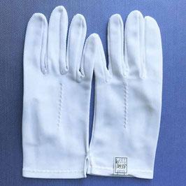 Handschuhe Sommer Gr. M / L / 7.5 / 8 weiss einfach VINTAGE 1960s NOS