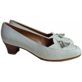 Loafers mit Troddeln Gr. 38 offwhite CASSANDRE