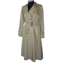 Trenchcoat Gr. L/XL Damen VINTAGE 1960s beige