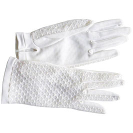 Handschuhe Gr. XS Sommer A offwhite VINTAGE 1950s