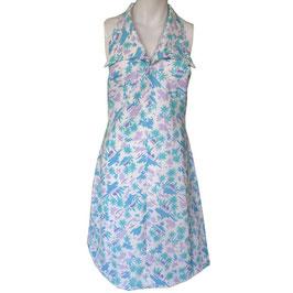 Kleid Sommerkleidchen 70s Halterneck Gr. S