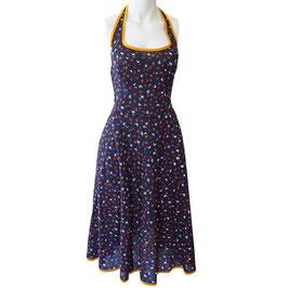 Kleid Sommerkleid Baumwolle Neckholder NOS 1970s XS/S