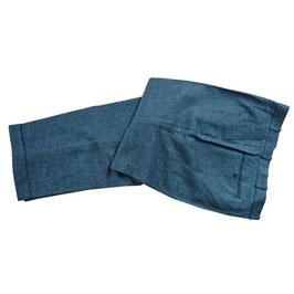 Herrenhose Wolle Tweed 1970s VINTAGE mit Aufschlag Fischgrat L