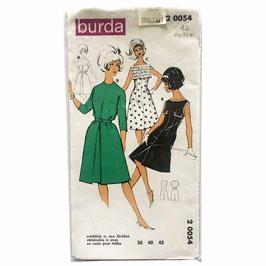 Schnittmuster BURDA Damenkleid Gr. 40/42 VINTAGE 1970s Nr. 2 0054