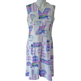 Kleid Sommerkleid leicht oA VINTAGE 1960s Gr. M/L