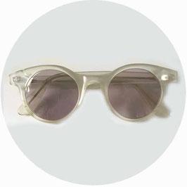 Sonnenbrille Brille Damen milchige Transparenz geschliffene Gläser VINTAGE 1990s