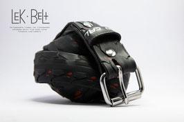 Lek Belt Made in Moerwijk -Zwart