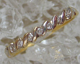 Goldringe Damenringe 18kt 750 Gold Ring Damenring Brillant Ring Brillant Schmuck