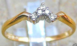 Goldringe 14kt 585 Gold Ring Brillant Ring Schmuck Diamant Ring Damen Ring