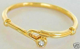 Goldringe 18kt 750 Gold Ring Damen Diamant Ring Damenring mit Diamant Schmuck