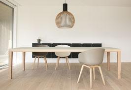 Tisch R10 Eiche-Linoleum 260cm