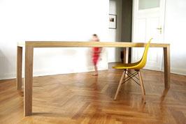 Tisch R10 Eiche-Linoleum
