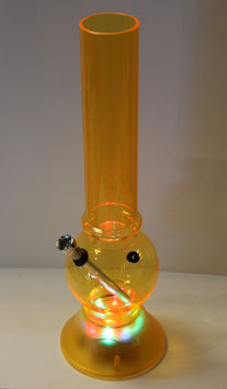 "Plexi Bong ""Flashing Orange"""