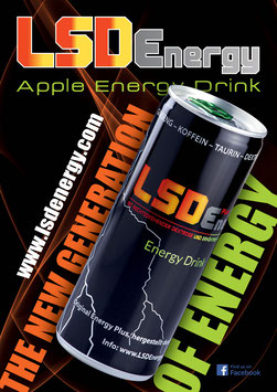 LSD Apfel Energy Drink