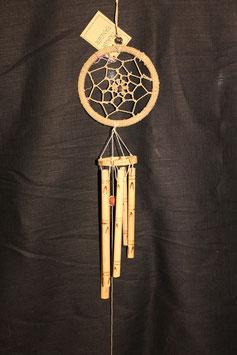 Traumfänger Klangspiel Bambus 11cm Ø