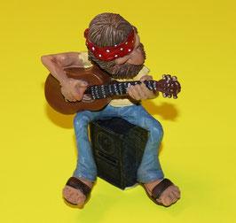 """Hippie """"Gitarrenspieler"""""""