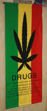 "Flagge ""Drugs"""