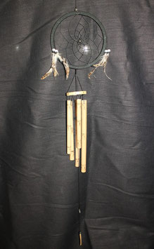 Traumfänger Klangspiel Bambus 16cm Ø