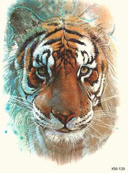 Tiger fein gezeichnet
