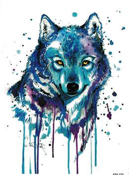 Wolf Aquarell