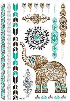 Set Elefant Henna Style