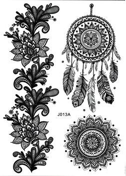 Henna Set mit Traumfänger