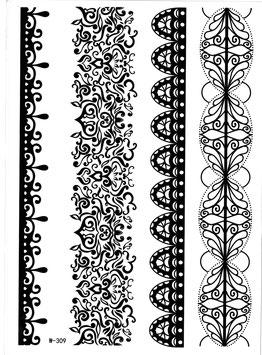 Armbänder Henna Style