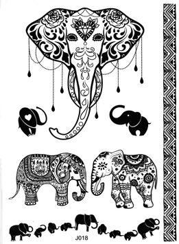 Henna Set Elefant