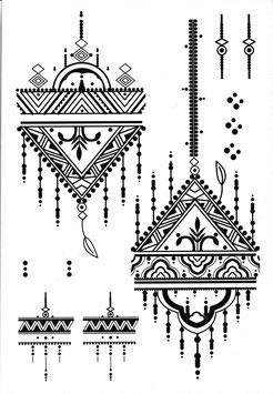 Henna Set Jugendstil