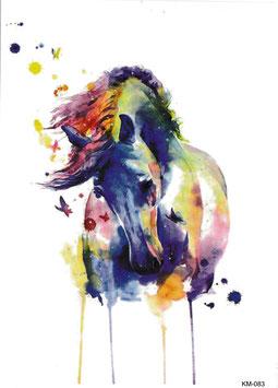 Pferd Aquarell