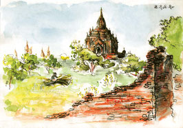 Temple Htilominlo_Bagan
