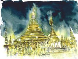 Pagode Shwedagon 1