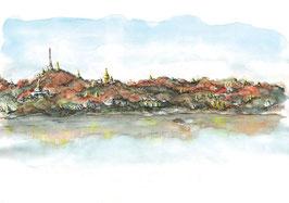 Les collines de Sagaing