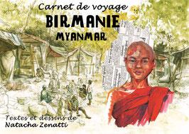 Carnet de Voyage-Birmanie-Myanmar