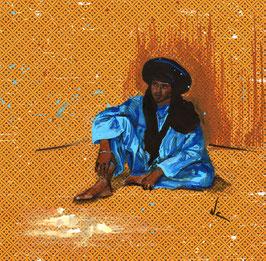le bleu touareg