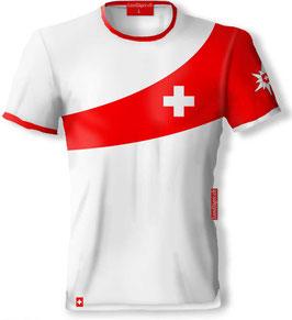 """Schweizerkreuz """"Alphorn"""" T-Shirt"""
