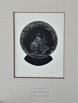 商品名「海底二万里」黒インクバージョン