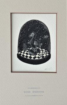 商品名「アリス」黒インクバージョン