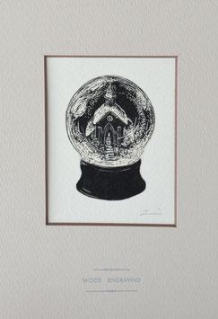 商品名「大浦天主堂」黒インクバージョン