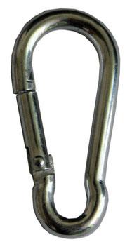 Mousquetons 4 mm x 4 cm