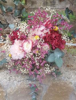 Ramo flor preservada Bouquet Novia 8