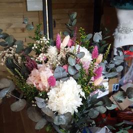 Ramo flor preservada  Novia 07